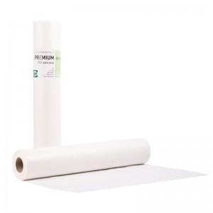 PREMIUM STANDARD Εξεταστικό Ρολό Πλαστικό + Χαρτί Λευκό - 40cm x 50m