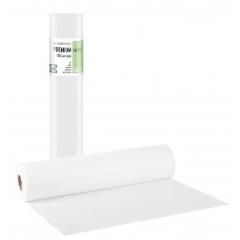 PREMIUM STANDARD Πλαστικό + Χαρτί Λευκό - 55cm x 50m
