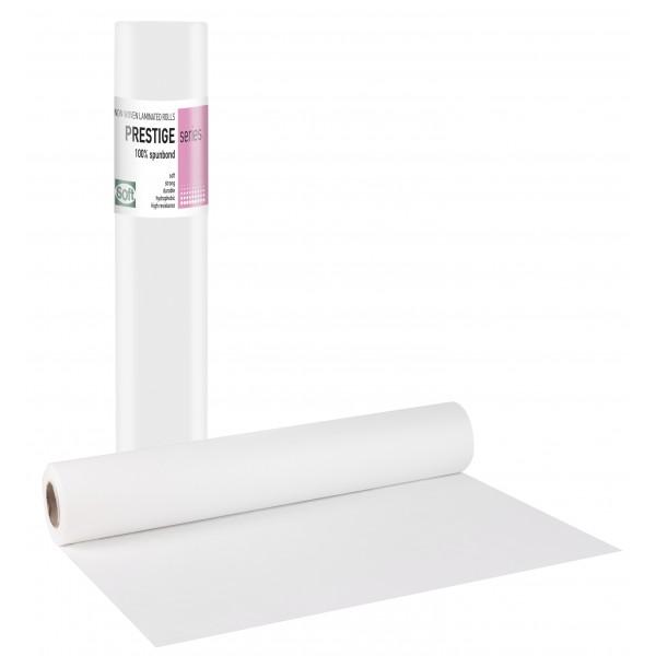 PRESTIGE STANDARD Non woven + Πλαστικό Λευκό - 68cm x 50m