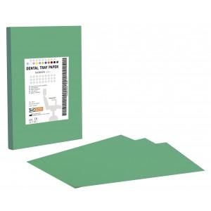 Χαρτί οδοντιατρικής ταμπλέτας - Πράσινο