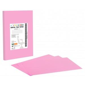 Χαρτί οδοντιατρικής ταμπλέτας - Ροζ