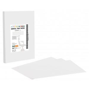 Χαρτί οδοντιατρικής ταμπλέτας - Λευκό