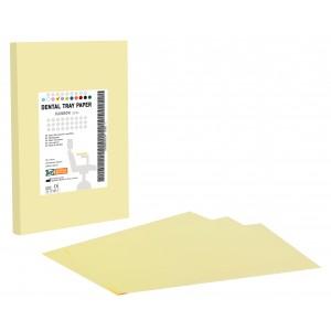 Χαρτί οδοντιατρικής ταμπλέτας - Κίτρινο