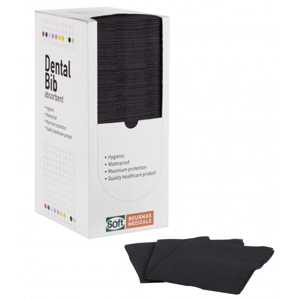 Οδοντιατρική πετσέτα Μαύρη