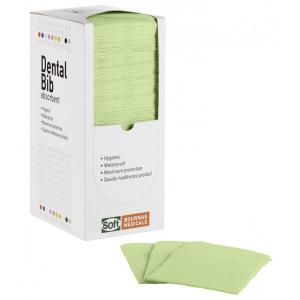 Οδοντιατρική πετσέτα Πράσινη