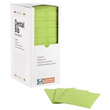 Οδοντιατρικές πετσέτες 1ply χαρτί + 1ply πλαστικό