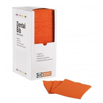 Οδοντιατρικές πετσέτες 2ply χαρτί + 1ply πλαστικό