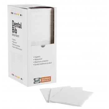 Οδοντιατρική πετσέτα Λευκή (χωρίς dispenser)