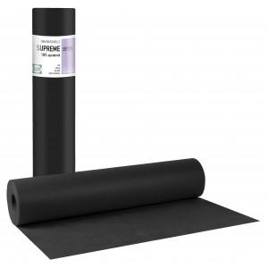 SUPREME PLUS Εξεταστικό Ρολό Non woven Μαύρο 20gr - 58cm x 70m